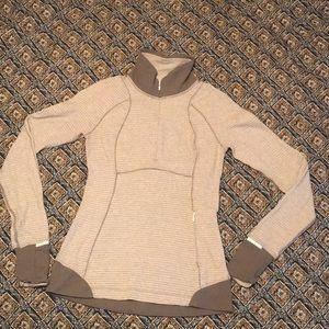Lululemon Quarter Zip Pullover size 4